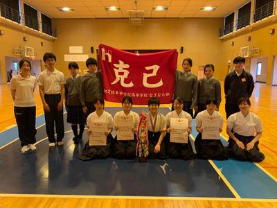 令和元年度和歌山県高校総体なぎなた競技
