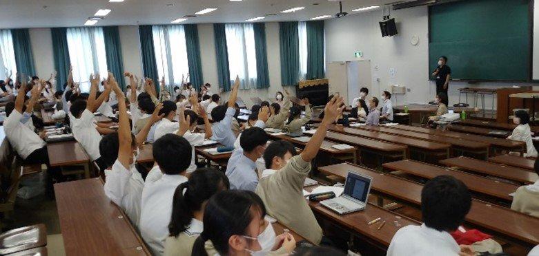 【高1Gコース】「初芝立命館高等学校グローバル特進コース1年生 法教育プログラム」 始まる