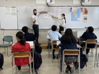 【中学1年生】イングリッシュイマ―ジョンキャンプ2日目