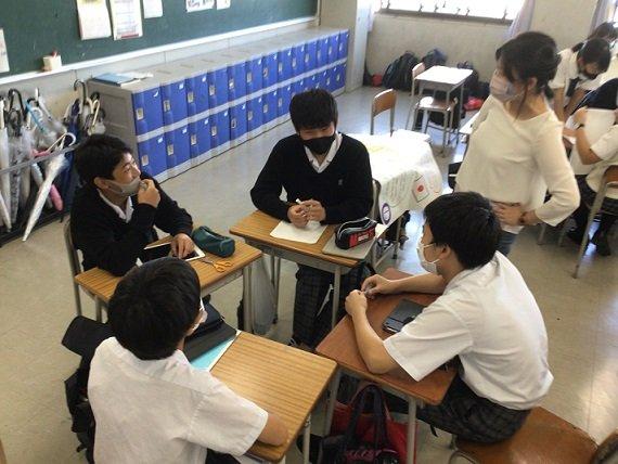 【中学2年生】10月11日HR