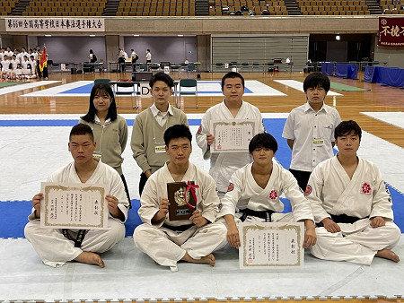 【日本拳法部】第66回 全日本高等学校日本拳法選手権大会 第3位 入賞