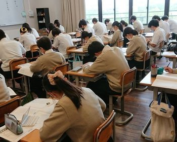 【高校3年生】小論文模試実施