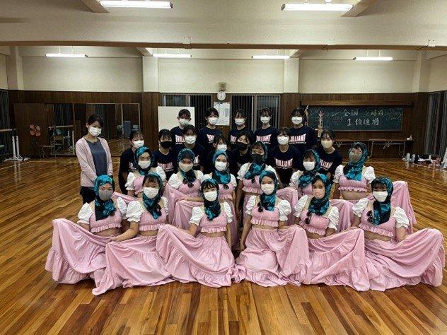 ダンス部 NHKの番組取材を受けました!