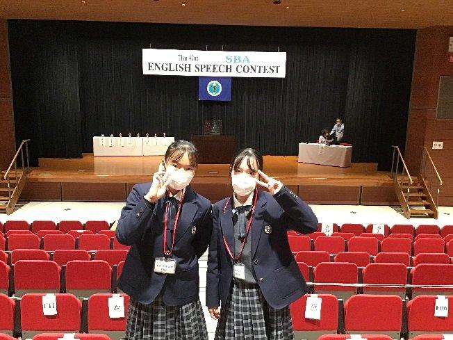 【中学2年生】堺市弁論大会~大健闘~