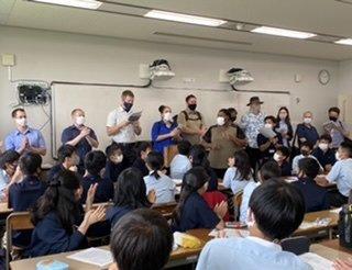 【中学1年生】イングリッシュイマージョンキャンプ1日目