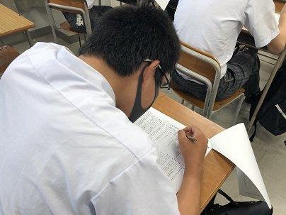 【中学3年生】夏期特別講座 3日目 テスト会